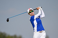 Hyo Joo Kim (KOR) watches her tee shot on 10 during round 4 of the Volunteers of America Texas Classic, the Old American Golf Club, The Colony, Texas, USA. 10/6/2019.<br /> Picture: Golffile | Ken Murray<br /> <br /> <br /> All photo usage must carry mandatory copyright credit (© Golffile | Ken Murray)
