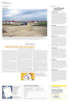 Die Wochenzeitung WOZ (Swiss weekly) on crisis-related civil activity in Hungary, part 5: Ocsa debtors' village erected, 2013.05.02. Photo: Martin Fejer
