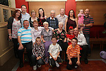 Fiona Black with family at her 40th in Harrys....Picture Jenny Matthews/Newsfile.ie