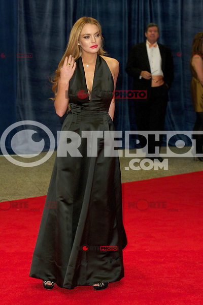 WASHINGTON, DC - APRIL 28: Lindsay Lohan attends the 2012 White House Correspondents Dinner at the Washington Hilton Hotel in Washington, D.C  on April 28, 2012  ( Photo by Chaz Niell/Media Punch Inc.)