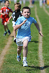 Kyle Quinn from Ardee Ac AC running in the boys under 8 sixty meter event at the Louth Community Games Athletics Finals held at meadowview. Photo: Colin Bell/pressphotos.ie