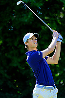 Thomas Detry (BEL) during the first round of the Lyoness Open powered by Organic+ played at Diamond Country Club, Atzenbrugg, Austria. 8-11 June 2017.<br /> 08/06/2017.<br /> Picture: Golffile | Phil Inglis<br /> <br /> <br /> All photo usage must carry mandatory copyright credit (&copy; Golffile | Phil Inglis)