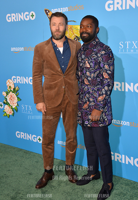 Nash Edgerton &amp; David Oyelowo at the world premiere for &quot;Gringo&quot; at the L.A. Live Regal Cinemas, Los Angeles, USA 06 March 2018<br /> Picture: Paul Smith/Featureflash/SilverHub 0208 004 5359 sales@silverhubmedia.com