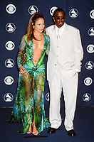 LOS ANGELES - FEB 23:  Jennifer Lopez, Sean Combs at the Grammy Awards at the Staples Center on February 23, 2000 in Los Angeles, CA