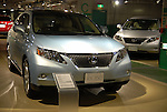 Toyota unveils new Lexus SUV RX350 and RX450h for the Japanese market at Lexus RX Museum in Tokyo.19 January, 2009. (Taro Fujimoto/JapanToday/Nippon News)