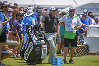 Graeme McDowell (NIR) looks over his tee shot on 2 during round 1 of the AT&T Byron Nelson, Trinity Forest Golf Club, at Dallas, Texas, USA. 5/17/2018.<br /> Picture: Golffile | Ken Murray<br /> <br /> <br /> All photo usage must carry mandatory copyright credit (© Golffile | Ken Murray)
