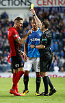 Kirk Broadfoot booked