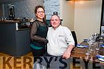 Katia and Julian Wyatt, Land To Sea restaurant.