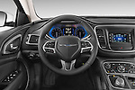 Car pictures of steering wheel view of a 2015 Chrysler 200 Limited 4 Door Sedan 2WD Steering Wheel