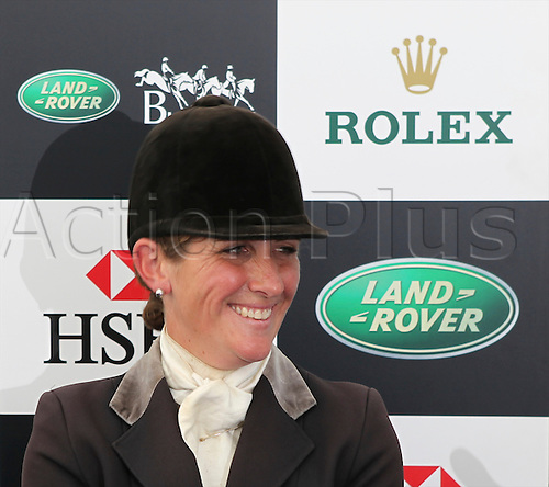 05.09.2010 Caroline Powell winner of The Land Rover Burghley Horse Trials.