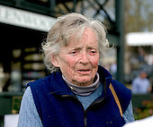 Venerable trainer Dot Smithwick, in the winner's circle at Glenwood Park in April after her Swimming River won the Alfred Hunt, died June 16 at Sunny Bank Farm, her home in Middleburg, Va.