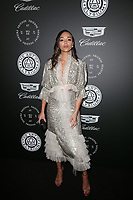 SANTA MONICA, CA - JANUARY 6: Ashey Madekwe at Art of Elysium's 11th Annual HEAVEN Celebration at Barker Hangar in Santa Monica, California on January 6, 2018. <br /> CAP/MPI/FS<br /> &copy;FS/MPI/Capital Pictures
