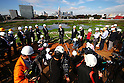 Japan Sport Council shows site for new national stadium