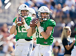 Detmer, Koy 17FTB Prac 8-17 296<br /> <br /> 17FTB Prac 8-17<br /> <br /> BYU Football Fall Camp<br /> <br /> August 17, 2017<br /> <br /> Photo by Jaren Wilkey/BYU<br /> <br /> &copy; BYU PHOTO 2017<br /> All Rights Reserved<br /> photo@byu.edu  (801)422-7322