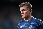 Toni Kroos of Real Madrid in training prior to the La Liga match between Real Madrid and RC Deportivo La Coruna at the Santiago Bernabeu Stadium on 10 December 2016 in Madrid, Spain. Photo by Diego Gonzalez Souto / Power Sport Images