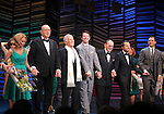 "Kristin Chenoweth, Neil Simon, Burt Bacharach, Sean Hayes, Hal David, Rob Ashford, Tony Goldwyn.taking a bow on the  Opening Night Broadway performance Curtain Call for ""PROMISES, PROMISES"" at the Broadway Theatre, New York City..April 25, 2010."
