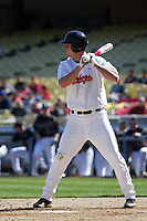 February 28 2010: Dusty Harvard of Oklahoma State during game against Vanderbilt at Dodger Stadium in Los Angeles,CA.  Photo by Larry Goren/Four Seam Images