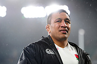 Mako Vunipola of England leaves the field after the match. Old Mutual Wealth Series International match between England and Australia on November 18, 2017 at Twickenham Stadium in London, England. Photo by: Patrick Khachfe / Onside Images