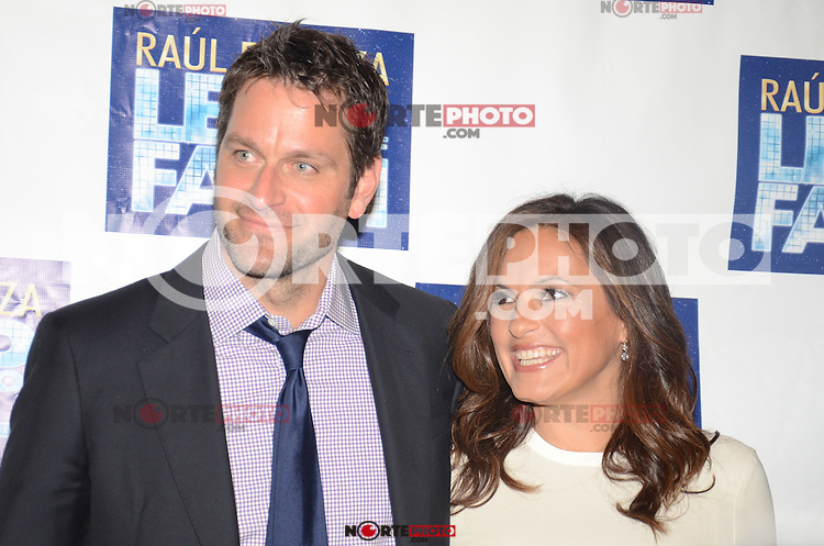Peter Hermann and Mariska Hargitay at the 'Leap Of Faith' Broadway Opening Night at the St. James Theatre on April 26, 2012 in New York City. © Amy Pinard/MediaPunch Inc.