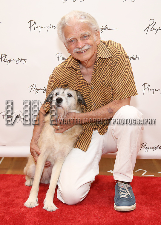 Ron Crawford attends the meet & Greet for Playwrights Horizons New York Premiere pf 'For Peter Pan on her 70th Birthday' on July 25, 2017 at the Playwrights Horizons Studios at  in New York City.
