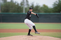 AZL White Sox starting pitcher Taylor Varnell (37) delivers a pitch during an Arizona League game against the AZL Mariners at Camelback Ranch on July 8, 2018 in Glendale, Arizona. The AZL White Sox defeated the AZL Mariners 8-5. (Zachary Lucy/Four Seam Images)