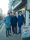 ENGLAND, Brighton, A Young Music Band