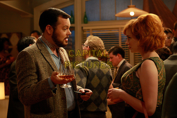MICHAEL GLADIS, CHRISTINA HENDRICKS<br /> in Mad Men (Season 2)<br /> *Filmstill - Editorial Use Only*<br /> CAP/FB<br /> Image supplied by Capital Pictures