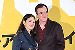 "Producer Shannon McIntosh and Director Quentin Tarantino attends the Japan premiere for their movie ""Once Upon a Time in Hollywood"" in Tokyo, Japan on August 26, 2019.  The film will be released in Japan on August 30."