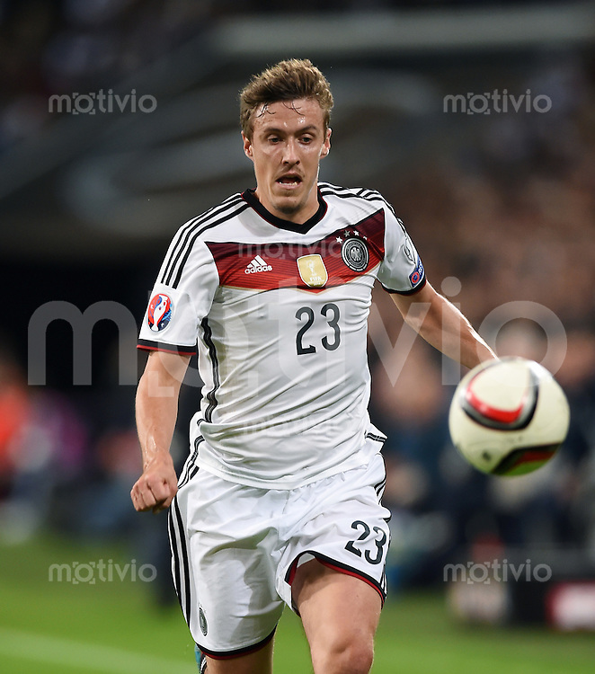 Fussball International EM 2016-Qualifikation  Gruppe D  in Gelsenkirchen 14.10.2014 Deutschland - Irland Max Kruse (Deutschland) am Ball