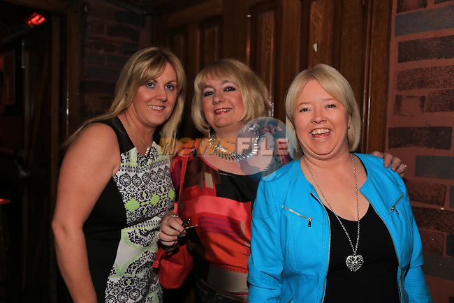 Colette Bolger, Bernie Smith and Terri Townley.in McPhails.Picture: Fran Caffrey / www.newsfile.ie ..