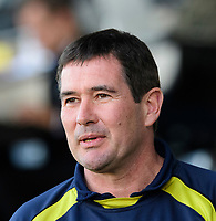 Burton Albion manager Nigel Clough prior to the game<br /> <br /> Photographer Chris Vaughan/CameraSport<br /> <br /> The EFL Sky Bet League One - Saturday 23rd February 2019 - Burton Albion v Fleetwood Town - Pirelli Stadium - Burton upon Trent<br /> <br /> World Copyright © 2019 CameraSport. All rights reserved. 43 Linden Ave. Countesthorpe. Leicester. England. LE8 5PG - Tel: +44 (0) 116 277 4147 - admin@camerasport.com - www.camerasport.com