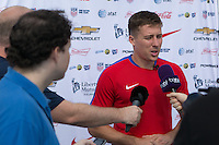 Jacksonville, FL - August 29, 2016: The U.S. Men's National Team train ahead of its World Cup Qualifying (WCQ) match versus St. Vincent and the Grenadines at UNF Hodges Stadium.