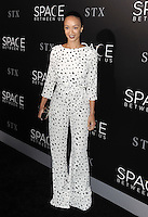 www.acepixs.com<br /> <br /> January 17 2017, LA<br /> <br /> Draya Michele arriving at the premiere 'The Space Between Us' at the ArcLight Hollywood on January 17, 2017 in Hollywood, California. <br /> <br /> By Line: Peter West/ACE Pictures<br /> <br /> <br /> ACE Pictures Inc<br /> Tel: 6467670430<br /> Email: info@acepixs.com<br /> www.acepixs.com