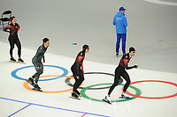 OLYMPIC GAMES: PYEONGCHANG: 09-02-2018, Gangneung Oval, Training session, Denny Morrison (CAN), ©photo Martin de Jong