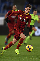 Patrik Schick of AS Roma in action during the Serie A 2018/2019 football match between AS Roma and Sassuolo at stadio Olimpico, Roma, December, 26, 2018 <br />  Foto Andrea Staccioli / Insidefoto