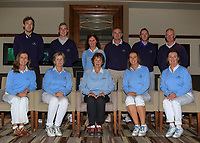 The Mount Juliet team for the Final round of the Irish Mixed Foursomes Leinster Final at Millicent Golf Club, Clane, Co. Kildare. 06/08/2017<br /> <br /> Back Row:<br /> Gavin Smyth, Luke Donnelly, Bernie Madigan (Captain), Paul Madigan, James Fitzpatrick and Dermot Fennelly.<br /> Front Row:<br /> Karen Murphy, Kathleen Hession, Mary Quigley, Therese Maher and Helen Walsh.<br /> <br /> Picture: Golffile | Thos Caffrey<br /> <br /> <br /> All photo usage must carry mandatory copyright credit     (&copy; Golffile | Thos Caffrey)