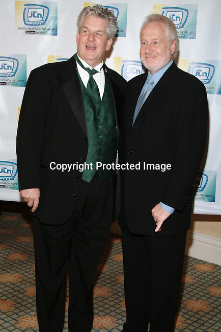 Lenny Clarke &amp; Garry Hart<br />Jewish Television Network&rsquo;s 2003 Vision Award Gala honoring Paramount Television Production President Gerry Hart. <br />Beverly Hills Hotel<br />Beverly Hills, CA, USA<br />Thursday, December 11, 2003   <br />Photo By Celebrityvibe.com/Photovibe.com