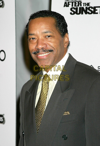 "OBBA BATURIDE.""After The Sunset"" - New York Premiere - Arrivals, New York City, New York .November 9th, 2004.headshot, portrait, mustache.www.capitalpictures.com.sales@capitalpictures.com.© Capital Pictures."
