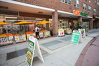Local chain Best Yet Market in the New York neighborhood of Tribeca on Sunday, June 19, 2016. The company is a regional supermarket chain comprised of 27 stores in the New York tri-state area. (© Richard B. Levine)