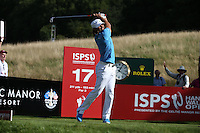 Johan Edfors (SWE) during Round Three at the 2013 ISPS Handa Wales Open from the Celtic Manor Resort, Newport, Wales. Picture:  David Lloyd / www.golffile.ie