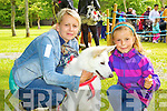 Pictured at the dog show at Feile na Bláth at Tralee Town Park on Saturday were from left: Barbara Mol, Amelia Mol with their dog Miley.