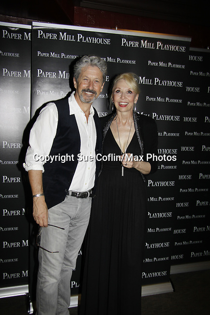 "Charles Shaughnessy ""King Francis"" and Julie Halston ""Queen Marie"" - Paper Mill Playhouse presents the world premiere of the the new musical Ever After on May 31, 2015 with curtain call followed by gala at Charlie Bowns in Millburn, New Jersey (Photos by Sue Coflin/Max Photos)"