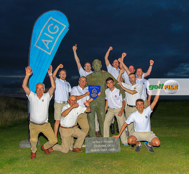 Limerick winners of the Munster Final of the AIG Senior Cup at Tralee Golf Club, Tralee, Co Kerry. 12/08/2017<br /> Picture: Golffile | Thos Caffrey<br /> <br /> <br /> All photo usage must carry mandatory copyright credit     (&copy; Golffile | Thos Caffrey)