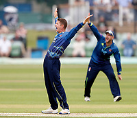 Joe Denly appeals for Kent during the Royal London One Day Cup game between Kent and Glamorgan at the St Lawrence Ground, Canterbury, on May 25, 2018