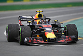 24th March 2018, Melbourne Grand Prix Circuit, Melbourne, Australia; Melbourne Formula One Grand Prix, qualifying; Max Verstappen of the Netherlands driving the (33) Aston Martin Red Bull Racing RB14 TAG Heuer