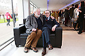 Photo/Paul McErlane File pictures of Award winning Belfast poet Ciaran Carson (wearing glasses) who passed away early Sunday Oct 6th, 2019 aged 70. Photo/Paul McErlane File pictures of Award winning Belfast poet Ciaran Carson (wearing glasses) sits with fellow poet Michael Longley at an event at Queen's University Belfast in 2014. Ciaran Carson passed away early Sunday Oct 6th, 2019 aged 70. Photo/Paul McErlane