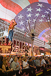 Fremont Street Experience Summer of 69  with The Grass Roots Honor Gaurd
