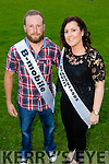 Tadgh Meehan and Lorraine Lynch  contestants at the Austin Stacks GAA club Launch of Strictly Come Dancing 2015 at the Festival Dome on Saturday 22nd  August at 8pm