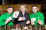 Conor Randel, Brian Spillane and Brendan Falvey who are preoaring for the Killarney Celtic Poker night which will be on in Scotts Hotel on Friday night at 8:30