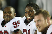 1 October 2006: Pannel Egboh during Stanford's 31-0 loss to UCLA at the Rose Bowl in Pasadena, CA.